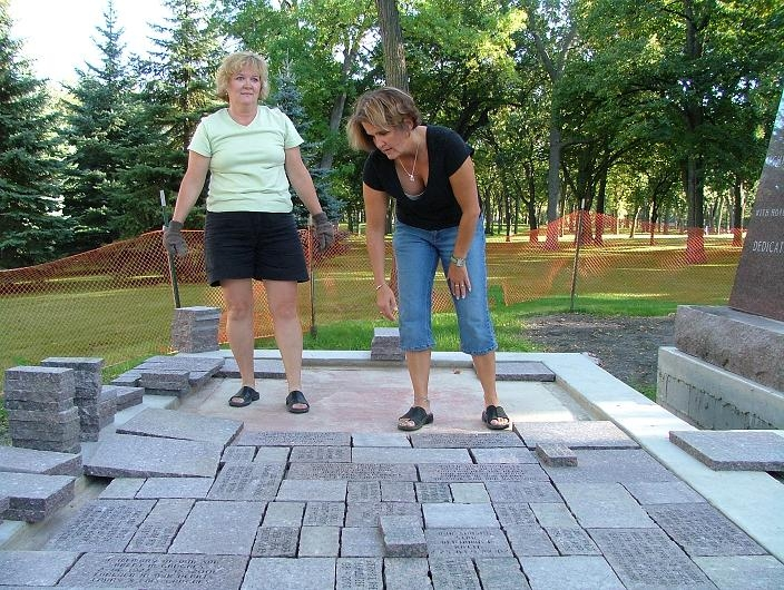 Setting Pavers 1